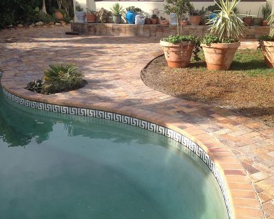 Swimming pools area pavers Cape Town