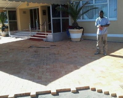 cement bond paver